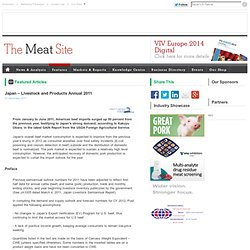 MEATSITE - DEC 2011 - Japan – Livestock and Products Annual 2011