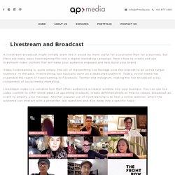 Livestream and Broadcast Agency Singapore, Cambodia, KL