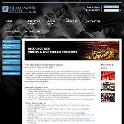Livestream Concerts