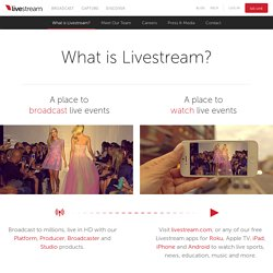 What is Livestream?