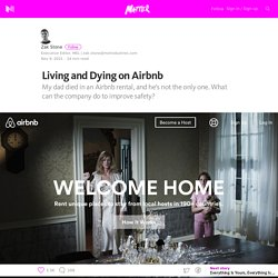 2015/11 [Matter] Living and Dying on Airbnb – Medium