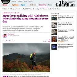 Meet the man living with Alzheimer's who climbs the same mountain every day
