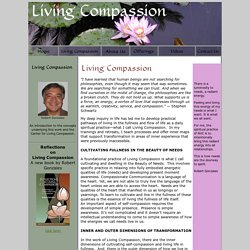 Living Compassion and the Center for Living Compassion
