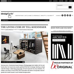 The Living Cube by Till Koenneker