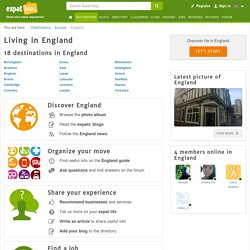 Living in England, moving to England, expatriate England