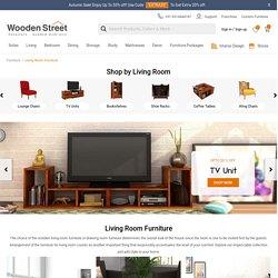 Buy Wooden Furniture for Living Room Online