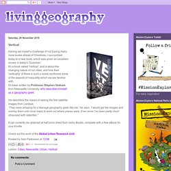 Living Geography: Vertical