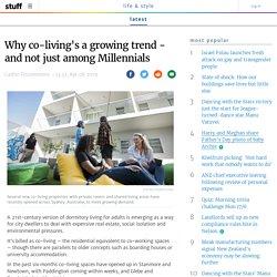 Co-living's a Growing Trend - Not just among Millennials
