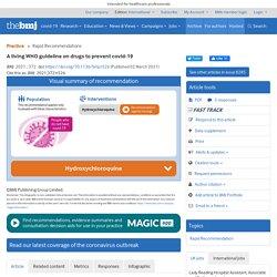 BMJ 02.03 HCQ Prevención Covid