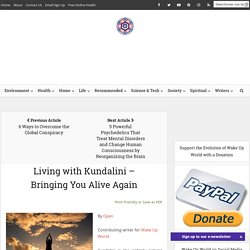 Living with Kundalini – Bringing You Alive Again