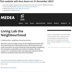 Living Lab the Neighbourhood