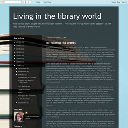 Living in the library world: October 2008