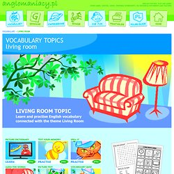Living Room Topic for ESL Kids
