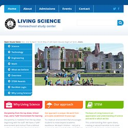 Living Science Home Studies