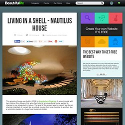 Living in a Shell - Nautilus House - StumbleUpon