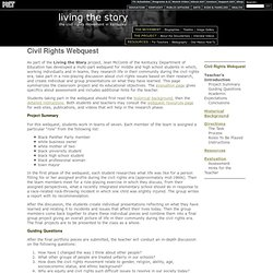 Living the Story | Civil Rights Webquest