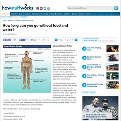 Living Without Water - HowStuffWorks
