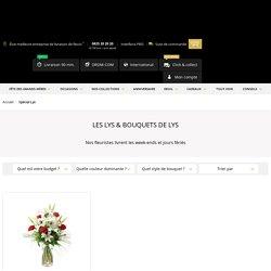 Lys - Livraison bouquet de lys