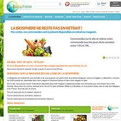 Livraison Bio sur Bruxelles et Brabant Wallon - La Biosphère - Livraison Bio