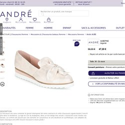 André AUBEPINE Argenté - Livraison Gratuite avec andre.fr ! - Chaussures Mocassins Femme 47,20 €