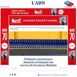 Walmart lance un service de livraison illimitée pour concurrencer Amazon