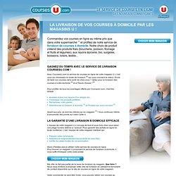 Livraison à domicile de courses en ligne, achat en supermarché internet - CoursesU.com