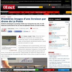 La Poste lance les premières livraisons par drone !