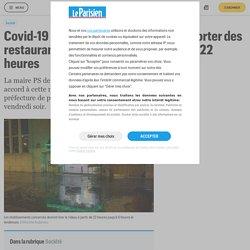 Covid-19 : les livraisons et vente à emporter des restaurants interdits à Paris à partir de 22 heures - Le Parisien