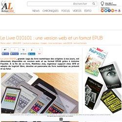 Le Livre 010101: une version web et un format EPUB