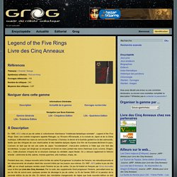 Legend of the Five Rings (L5R) - AEG