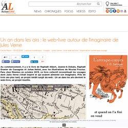 livre autour de l'imaginaire de Jules Verne