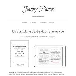 Livre gratuit: le b.a.-ba. du livre numérique