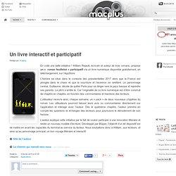 Un livre interactif et participatif
