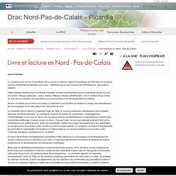 Livre et lecture en Nord - Pas-de-Calais - Drac Nord-Pas-de-Calais - Picardie