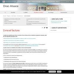 Livre et lecture - Drac Alsace