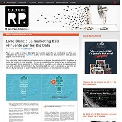 Livre Blanc : Le marketing B2B réinventé par les Big Data