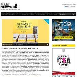 Livre de recettes : «Un goûter à New York !»
