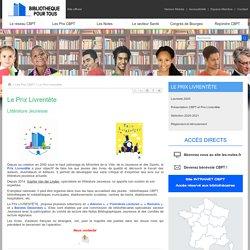 Le Prix Livrentête - Union Nationale Culture et Bibliothèque pour Tous (UNCBPT) - Site officiel