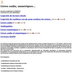 livres audio numériques