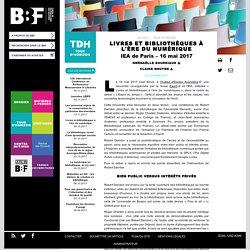 Livres et bibliothèques à l'ère du numérique