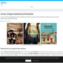 Livres. Pages bretonnes illustrées