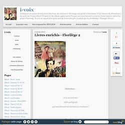 Livres enrichis - Florilège 2
