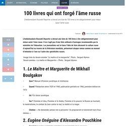 100 livres qui ont forgé l'âme russe