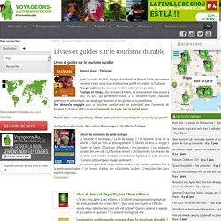Livres et guides sur le tourisme durable