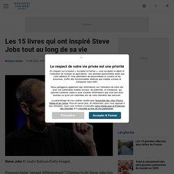 Les 15 livres qui ont inspiré Steve Jobs tout au long de sa vie