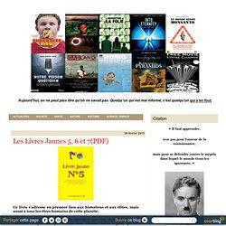 Les Livres Jaunes 5, 6 et 7(PDF