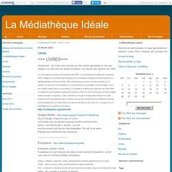 Livres - La Médiathèque Idéale