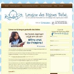 Livres sur la langue gestuelle des bébés « Langue des Signes pour Bébé