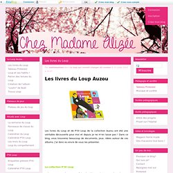 Les livres du Loup - Madame Alizée - Des mots dans les mains