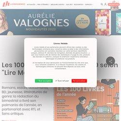 """Les 100 livres de l'année 2020 selon """"Lire Magazine Littéraire"""""""